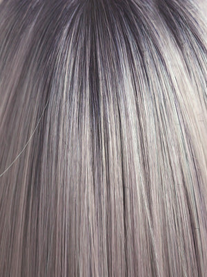 Rene of Paris Wigs | PASTEL-BLUE-R | Pastel Periwinkle with Dark Black/Purple roots