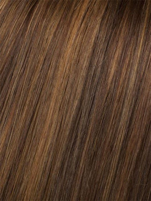 PINE-CONE | Medium Brown with Golden Copper Highlights