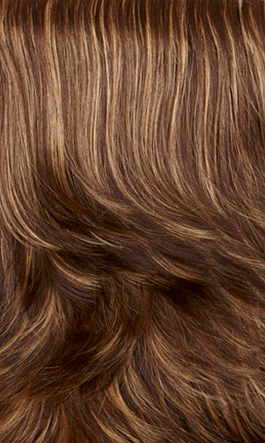 PRALINE-Dark brown with golden blonde highlights