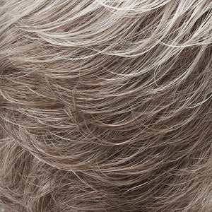 Jon Renau Wigs - Color PURE WHITE FRONT & GREY W 5% MED BROWN NAPE (60B56F)