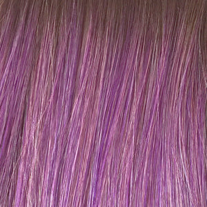 BelleTress Wigs | Purple Rain | features a blend of 8 different shades of brown and purple with a medium and light brown mixture of roots