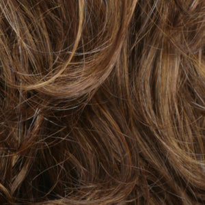 Estetica Wigs | R10/27H Light Brown with Light Auburn Highlights