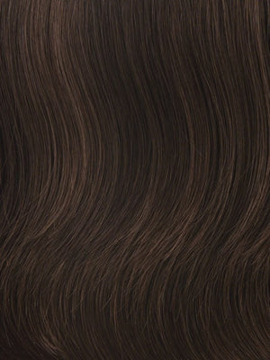Gabor Wigs - Color R10 CHESTNUT (Rich Dark Brown with Coffee Brown highlights all over)