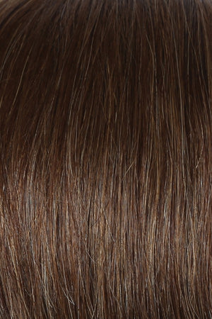 Raquel Welch Wigs | R10 CHESTNUT | Rich Medium Brown with subtle Golden Brown Highlights Throughout