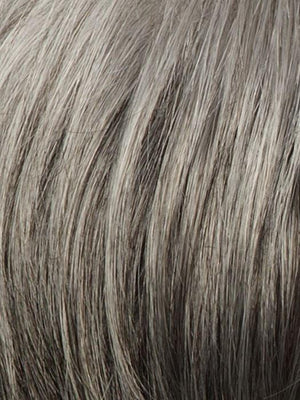 R119G GRADIENT SMOKE Light Brown With 80% Gray in Front Gradually Blended Into 50% Gray in Nape Area