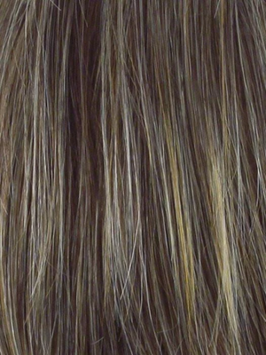 R11S+ GLAZED MOCHA | Medium Brown with Golden Blonde highlights