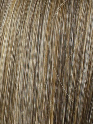R11S+ GLAZED MOCHA | Warm Medium Brown with Golden Blonde Highlights on Top
