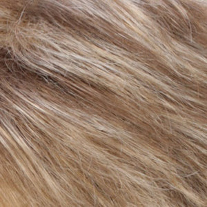 Estetica Wigs | R12/26 Light Brown with Chunky Golden Blonde Highlights