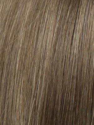 R12 26H HONEY PECAN Light Brown with Cool Subtle Medium Blonde highlights