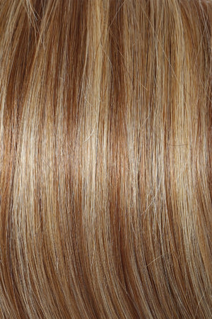 Raquel Welch Wigs | R14/25 HONEY GINGER | Dark Blonde Evenly Blended with Ginger Blonde