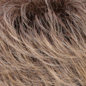 Estetica Wigs | R24/18BTRT8 | Golden Blonde Blended & Tipped with Ash Blonde & Golden Brown Roots