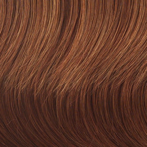 Raquel Welch Wigs | R28S GLAZED FIRE | Fiery Red with Bright Red Highlights on Top