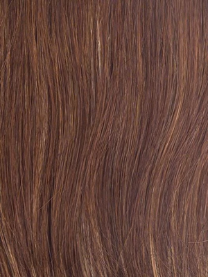 R3025S+ GLAZED CINNAMON | Medium Reddish Brown with Ginger hightlights