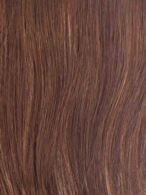 Gabor Wigs - Color R3025S+ GLAZED CINNAMON (Medium Reddish Brown with Ginger hightlights)