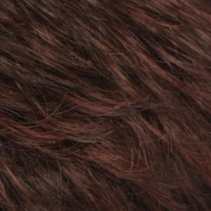 Estetica Wigs | R32F | Dark Brown/Dark Auburn Frost