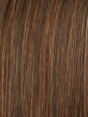 Raquel Welch Wigs | R32/31 CINNABAR Rich Chestnut with Medium Dark Auburn Undertones