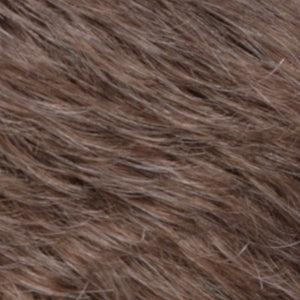 Estetica Wigs | R38 SMOKED WALNUT | Light Brown with 50% Grey