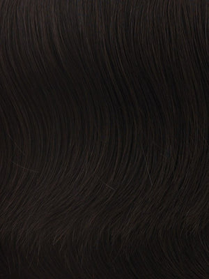 Hairdo Wigs - Color R4 MIDNIGHT BROWN - Darkest Brown base with a blend of Dark Brown and Warm Medium Brown throughout