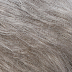 Estetica Wigs | R51LF60 | Off-Black with 75% Gray Lightening to White Mix in Front