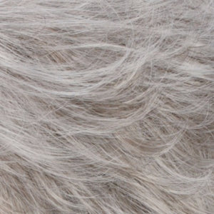 Estetica Wigs | R56/60 SILVER MIST | Lightest Gray with 20% Medium Brown Evenly Blended with Pure White