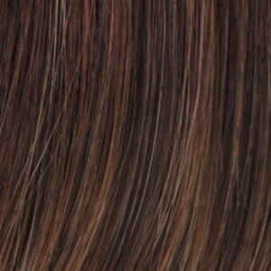 Estetica Wigs | R6/28F | Chestnut Brown w/Red Frost