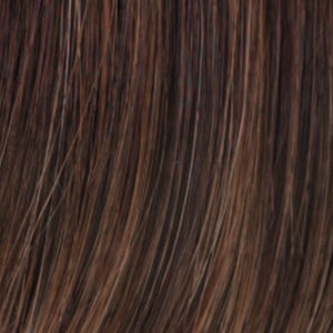 Estetica Wigs | R6/28F | Chestnut Brown w/ Red Frost