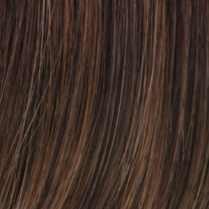 Estetica Wigs | R6/28F | Chestnut Brown with Red Frost