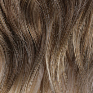 Estetica Wigs | R613BG14 | Dark Blonde with Fine Pale Blonde Highlights & Pale Blonde Tipped Ends