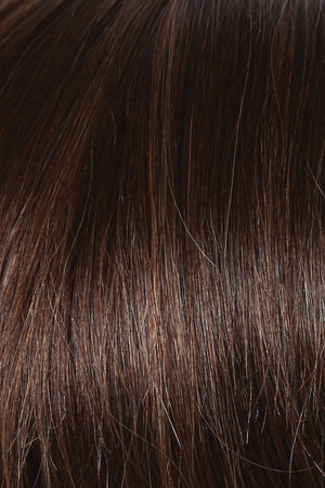 Raquel Welch Wigs | R6/30H CHOCOLATE COPPER | Dark Medium Brown Evenly Blended with Medium Auburn Highlights