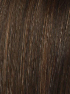 R6 30H CHOCOLATE COPPER Dark Medium Brown Evenly Blended with Medium Auburn Highlights