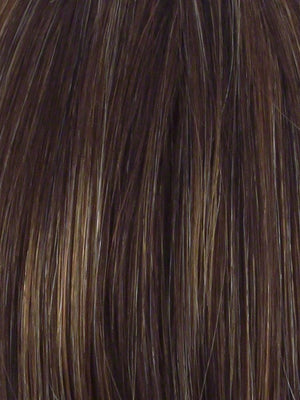 Hairdo Wigs - Color R829S GLAZED HAZELNUT | Medium Brown With Ginger Highlights On Top