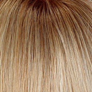 Estetica Wigs | RH1488RT8 | Dark Blonde w/Light Copper Blonde Highlights & Golden Brown Roots
