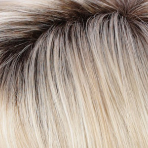 Estetica Wigs | RH26/613RT8 | Golden Blonde Highlights w/ Pale Blonde and Dark Roots
