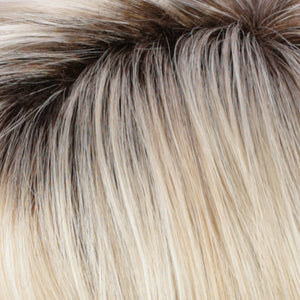 Estetica Wigs | RH26/613RT8 | Golden Blonde with Pale Blonde Highlights & Golden Brown Roots