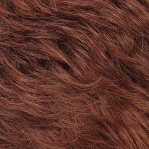 Estetica Wigs | RH31 Dark Auburn Tipped with 3 Red Tones