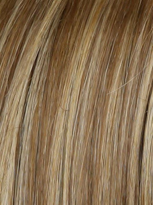 Raquel Welch Wigs | RL14/22SS SHADED WHEAT | Dark Blonde Evenly Blended with Platinum Blonde and Dark Roots
