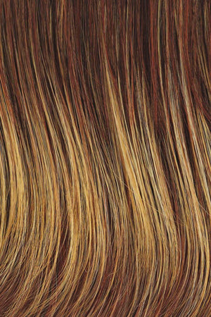 Raquel Welch Wigs - RL 31/29 FIREY COPPER