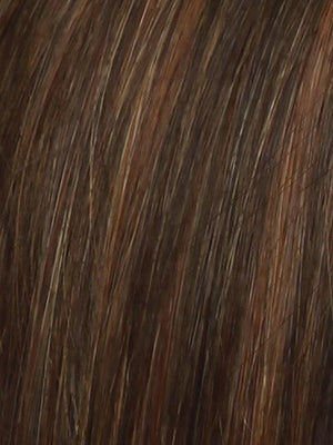 Raquel Welch Wigs | RL32/31 CINNABAR | Medium Dark Auburn Evenly Blended with Medium Light Auburn