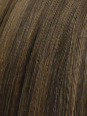Raquel Welch Wigs | RL6/8 DARK CHOCOLATE | Medium Brown Evenly Blended with Warm Medium Brown