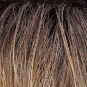 Estetica Wigs | ROM6240RT4 | Golden Brown Base with a subtle graduation to Copper Blonde