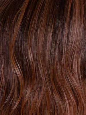 ROSEWOOD | Medium Dark Brown Roots that Melt into a Mixture of Saddle Brown and Terra-Cotta Tones