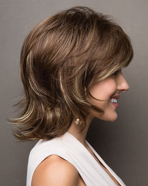 Noriko Wigs | Claire Wig by Noriko | Iced Mocha Rooted
