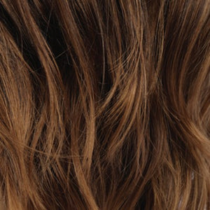 Estetica Wigs | RTH6/28 | Chestnut Brown With Subtle Auburn Highlights & Auburn Tipped Ends