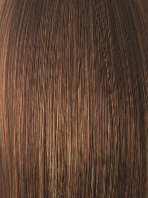 Amore Wigs | RUSTY-RED | Medium Reddish Brown with Light Reddish Highlights