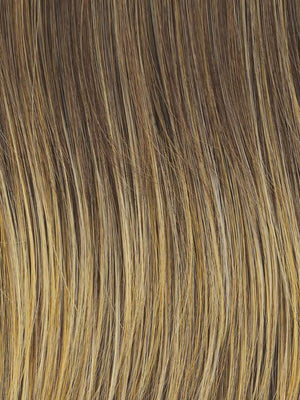 Raquel Welch Wigs | RL11/25	| Golden Walnut | Medium Brown with Gold  highlights throughout