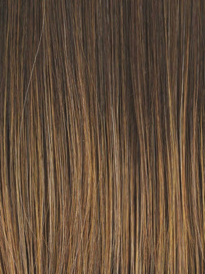 Raquel Welch Wigs | RL8/29 | Hazelnut | Medium Brown with Ginger highlights