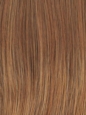 Raquel Welch Wigs | RL30/27	| Rusty Auburn | Pale Red with Warm Blonde highlights