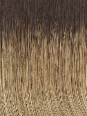 Raquel Welch Wigs | RL14/22SS | Shaded Wheat | Warm Medium Blonde with Medium Brown roots