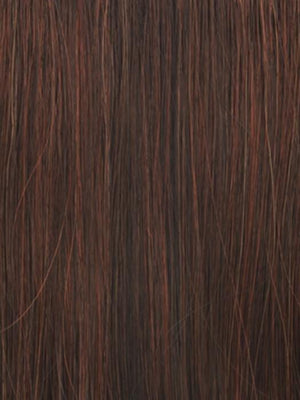 Raquel Welch Wigs | R6/28H COPPERY MINK | Medium Dark Brown With Vibrant Copper Red Highlights