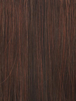 Raquel Welch Wigs | R6/28H | Coppery Mink	 | Dark Brown with Vibrant Red highlights